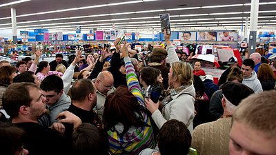 black friday overloaded shop